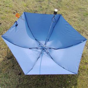 "21""*6k Three Fold Manual Open LED Umbrella (YS-3F4001A) pictures & photos"