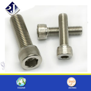 Factory Stock Knurled Hex Socket Screw pictures & photos