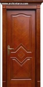Solid Wooden PVC Door with Superior Quality and Different Style pictures & photos