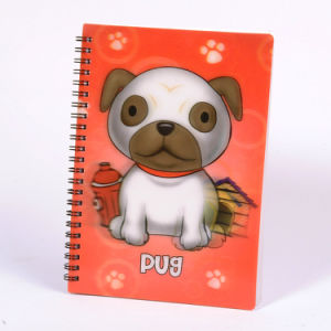 2015 Lovely New Single Spiral 3D Notebook pictures & photos