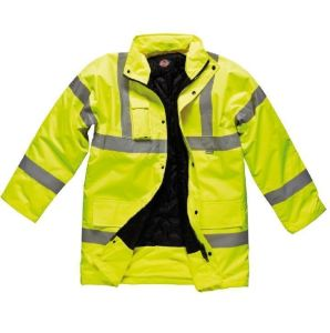 High Visibility Winter Reflective Parka Jacket pictures & photos