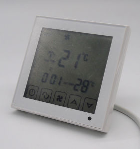 Touch Screen Programmable Fan Coil Thermostat pictures & photos