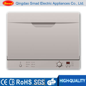 Commercial or Home Use Table Top Style Dishwasher Machine Price pictures & photos
