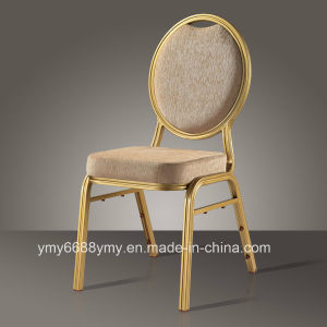 Round Back Molded Foam Aluminium Banquest Chair