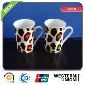 Leopard Print New Bone Mug for Promotion pictures & photos