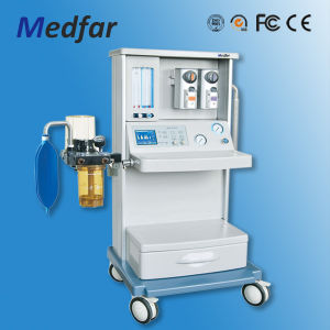 Anesthesia Machine Mf-M-01bii with Two Vaporizers pictures & photos