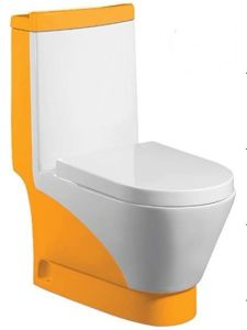 Wash Down One-Piece Toilet (A-0197E)