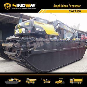 Floating Dredger Excavator (0.4m3 Bucket Capacity) (SWEA150) pictures & photos