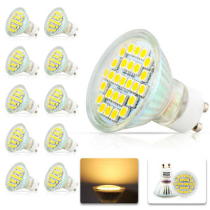 5050 LED 27PCS 4.5W GU10 AC85-265V LED Spotlight pictures & photos