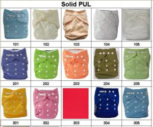 Solid Colors for Pul of Cloth Diapers