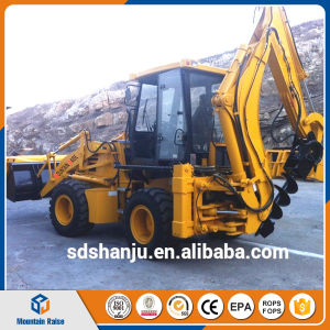 0.3m3 Digger Backhoe Loader with Spare Parts pictures & photos