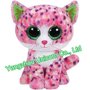 CE Soft Stuffed Animal Valentine Gift Heart Cat Plush Toy pictures & photos