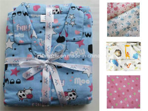 100% Cotton or Tc Flannel Fabric for Pajamas