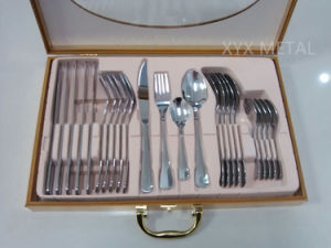 24 Pieces Stainless Steel Cutlery Sets for Six People pictures & photos