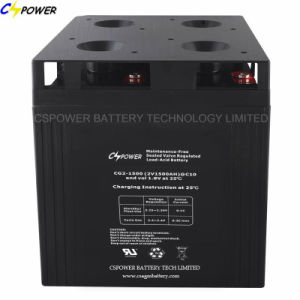 2V1500ah Deep Cycle AGM Battery/Accumulator for Solar &Wind System pictures & photos