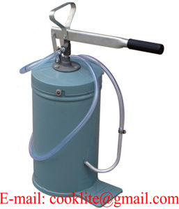 High Volume Manual Lubricator Bucket Lubrication Pump Hand Operated Greaser - 10L pictures & photos