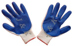 Nylon Nitrile Safety / Work Glove Nitrile Work Glovenitrile Safety Glove pictures & photos