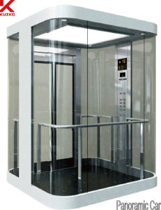 Sightseeing Elevator with Mini Machine Room pictures & photos