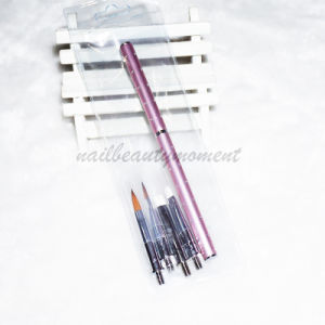 Nail Beauty Manicure Gel Brush Kit (B028) pictures & photos