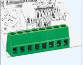 PCB Screw Terminal Block with 5.0mm Pitch Spacing Vertical Pin Header (GS007-5.0/5.08/7.5)