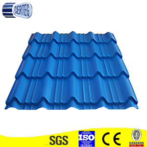 Blue Color Corrugated Steel Roof Tiles pictures & photos