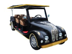 Classic 8 Seat Electric Club Car for Sightseeing pictures & photos