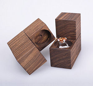 Blocks Shape Wooden Perfume Storage Box pictures & photos