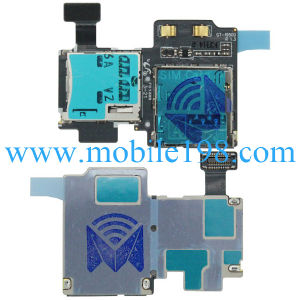 SIM Card and SD Card Flex Cable for Samsung Galaxy S4 Gt-I9500 Mobile
