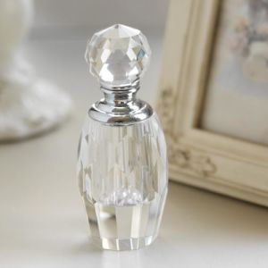 New Design Crsytal Glass Perfume Bottle (JD-XSP-617) pictures & photos