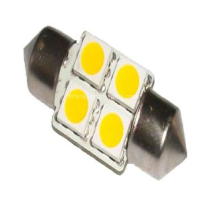 Festoon 4PCS SMD 5050 LED Auto Light (S85-31-004Z5050) pictures & photos