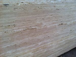 Honed and Unfilled Travertine Slab for Outside Flooring pictures & photos