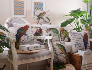 Animal Transfer Printed Cushion Fashion Decorative Cushion (SPL-447) pictures & photos