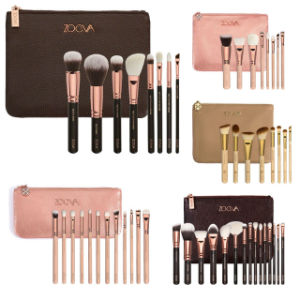 Zoeva 8PCS Face Makeup Brush Set Black /Pink/Gold Cosmetic Brush Set pictures & photos