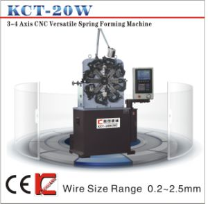 Kct-20b 0.2-2.5mm 4 Axis CNC Vesatile Spring Forming Machine&Torsion/Tension Spring Machine pictures & photos