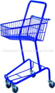 Basket Trolley, Shopping Wheel Trolley pictures & photos