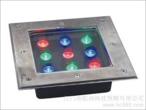 12/24V Stainsless Steel Underground LED Light pictures & photos