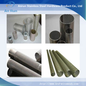 Pattern Perforated Metal Tube Made of Perforated Sheet pictures & photos