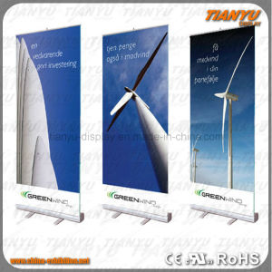 Portable Aluminum Roll up Stand pictures & photos