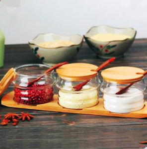Eco-Freindly Food Grade Glass Spice Jar pictures & photos