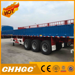 Single Tyre Cargo/Fence Semi Trailer with Side Wall pictures & photos