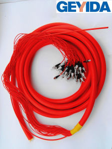 FC/Upc Multicore Breakout Optical Fiber Patch Cord pictures & photos