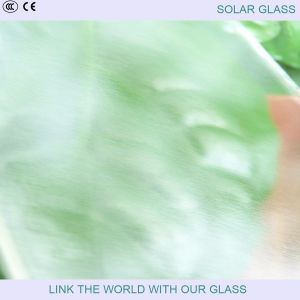4mm Super White Matte Glass/Prismatic Glass for Solar Collector pictures & photos