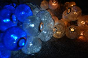 Metal Lantern Decoration Light Chain pictures & photos