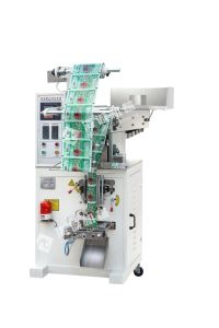 Vffs Small Packaging Machine for Potato Chips with Chain-Bucket Dxd-400b pictures & photos