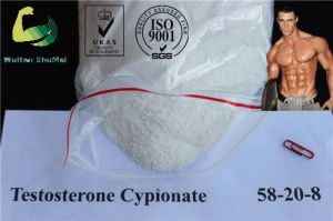 White Muscle Growth Powder Testosterone Cypionate 58-20-8 Hormone pictures & photos