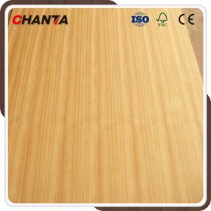 Cc/QC Straight Line/Flower AAA/AA Grade Teak Plywood for Furniture pictures & photos