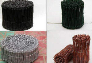 PVC Coated Loop Tie Wire/ Bag Tie Wire / Bag Ties pictures & photos
