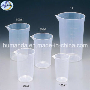 Plastic Beaker Measuring Mugs for Laboratory