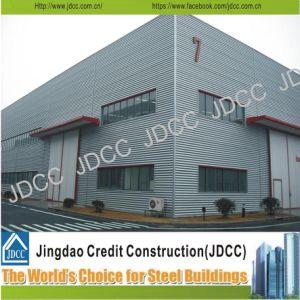 Galvanized Steel Structure Sandwhich Panel Factory Workshop pictures & photos
