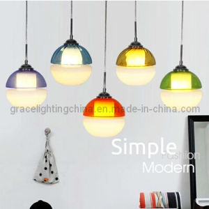 Multicolor Glass Ball Pendant Lamp for Dinner Light (GD-1040-1) pictures & photos